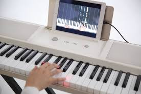Piano Key Lights Learn To Play The Piano With The One Light Keyboard
