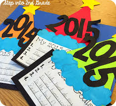 new year s resolutions goals goals for students in upper new year s resolutions goals craft
