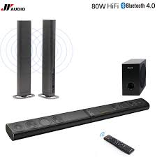home theater wireless. 60w 3d home theater tv soundbar bluetooth speakers wireless sound bar stereo led tf optical hdmi