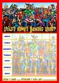 Avengers Potty Chart Details About Marvel Superheroes Personalised Reward Chart With Free Stickers And Pen
