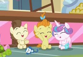 1423394 A Flurry Of Emotions Baby Ponies Cute Diaper Laughing