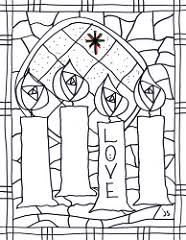 Small Picture Advent Coloring Pages by Stushie Stushie Art