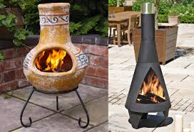 furniture using fabulous chiminea for patio furniture ideas