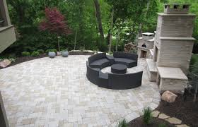 patio ideas medium size patios with retaining walls circular paver patio kit building wall drainage fire