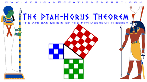 the ptah horus pythagoras theorem