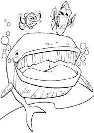 Disegno Di Nemo Dory E La Balena Da Stampare Gratis E Colorare