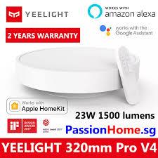 <b>Yeelight</b> Smart LED Ceiling Light Lamp (White) <b>320mm</b> Pro V4 ...