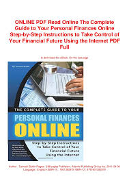 Online Pdf Read Online The Complete Guide To Your Personal