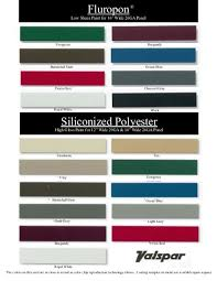 New Color Chart Jensen Bridge Supply