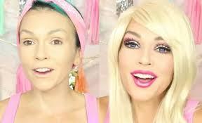 the barbie make up look a like