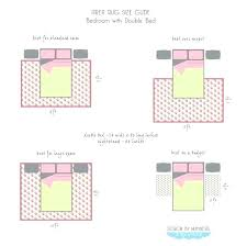 best rug size for king bed courtesy right throw sizes typical