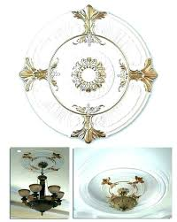 chandelier ceiling medallions install a medallion small notebook for popular residence chandeliers ideas