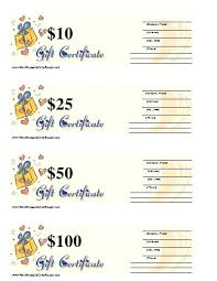 Gift Certificate Maker Free Cool Print A Gift Certificate Free Personalized Certificates Template