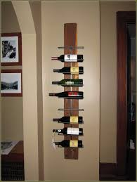 simple-wall-mounted-wine-racks-with-wall-pictures-