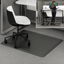 Office floor mats Plastic Ergonomic Sit Stand Mat Chairmatscom Ergonomic Sit Stand Mat Chairmatscom
