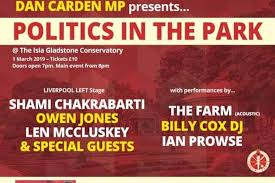 Political Event Flyer Music And Politics Event To Feature Major Names Opposed To Tory