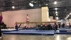 Ava Boyd 2019 | Pink Invitational 2018 | Level 10 beam - YouTube