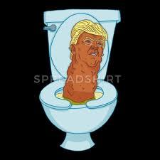 Image result for trump turd