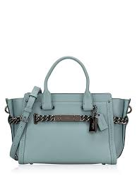 59542 Swagger 27 Glovetanned Satchel Cloud