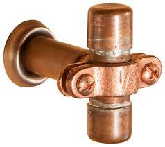 copper door knobs. small industrial copper cabinet handle industrial-cabinet-and-drawer-knobs door knobs