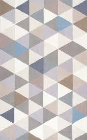 nuloom handmade modern geometric wool gray rug 7396 x 9396 nuloom wool rug reviews