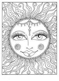 Small Picture sun moon zentangle Google Search Printables Pinterest