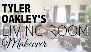 For A Living Room Makeover Living Room Makeover With Tyler Oakley Youtube