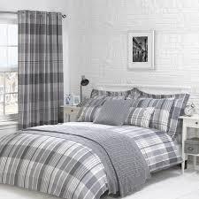 bedroom striped curtain design for modern decoration flannel herringbone duvet cover