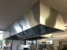 commercial kitchen ventilation hood installation 1