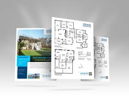 Template Double Sided Brochure Template Real Estate Flyer Page 2