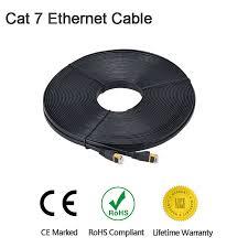 Cat7 <b>Ethernet</b> Cable High Speed <b>Lan</b> Cable SSTP RJ45 <b>Flat Lan</b> ...