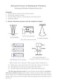 Supplementary Handout For Me 147 Mechanical Vibrations Winter