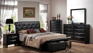 Bedroom: Retro Style Bedroom Furniture Queen Size Contemporary Bedroom Sets  Leather Bedroom Sets From Leather