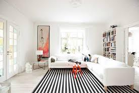Black Cowhide Rug  Contemporary  Living RoomBlack Living Room Rugs