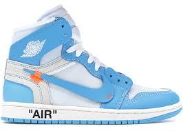 Jordan 1 Retro High <b>Off</b>-<b>White</b> University Blue - AQ0818-148