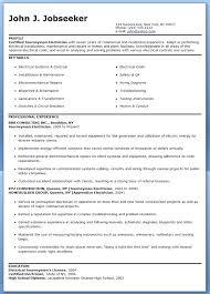Electrician Job Resume Top 8 Automotive Electrician Resume Samples