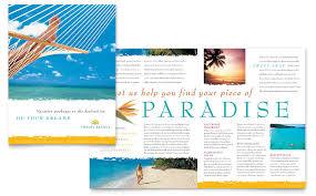 Free Travel Brochure Template Word Travel Agency Brochure Template
