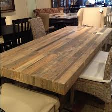 Best 25 Reclaimed Wood Table Top Ideas On Pinterest Wood Tables Do It  Yourself Dining Table