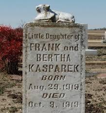 Angie Kasparek (1919-1919) - Find A Grave Memorial