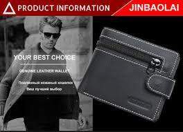 <b>JINBAOLAI</b> brand Wallet <b>men genuine leather men</b> wallets purse ...
