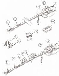 overhead garage door partsOverhead Door Compatible Garage Door Opener Parts  Genie 1024