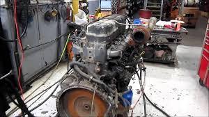 mack e7 e tech sel engine running