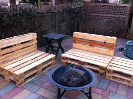 pallet outdoor banches