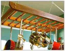 hanging pot rack diy hanging pot rack diy wall mounted pot rack