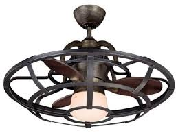 enclosed ceiling fan. Enclosed Ceiling Fan With Light 42 Inch Flush Mount Black Outdoor Mission Style 70 S