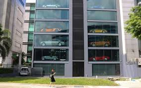 Singapore Car Vending Machine Adorable The Singapore 'vending Machine' Which Dispenses Bentleys Ferraris
