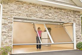 sliding garage doorsSliding Garage DoorsHouse With Wooden Side Sliding Garage Doors