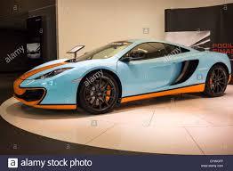 Light Blue Mclaren 2013 Light Blue Orange Mclaren Mp4 12c Coupe Super Sports