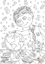 Small Picture Peter Boy in September coloring page Free Printable Coloring Pages