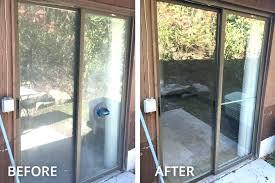 repairing sliding glass door sliding glass door removal furniture chic patio door glass replacement removing sliding